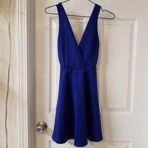 Navy dress nwot